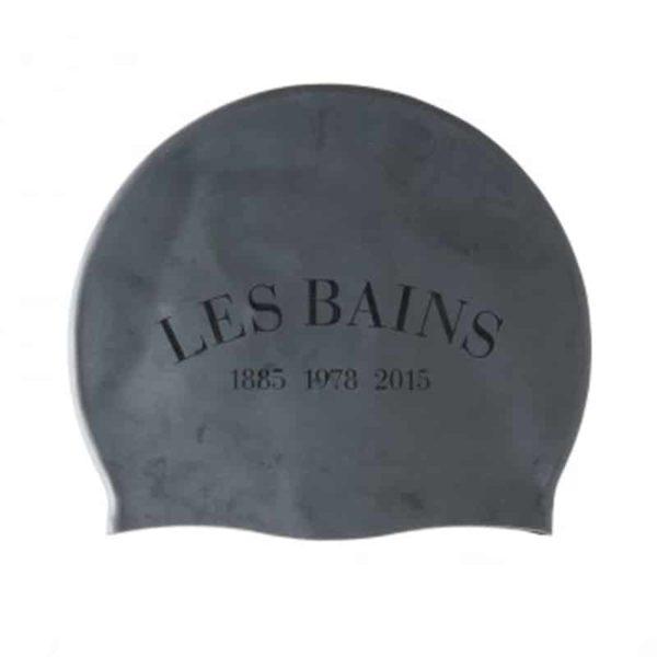 bonnet de bain les bains paris