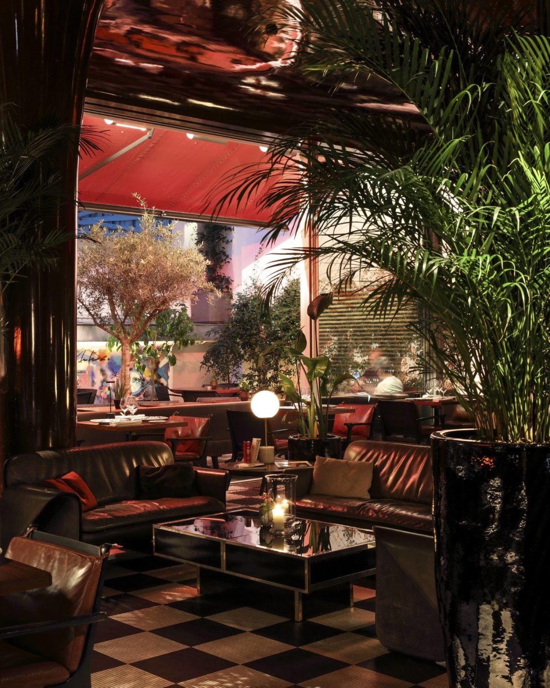 roxo restaurant les bains paris
