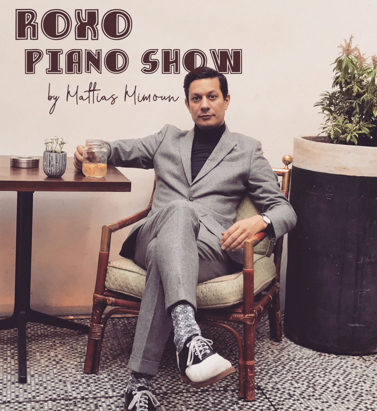 Roxo PIANO SHOW by Mattias Mimoun