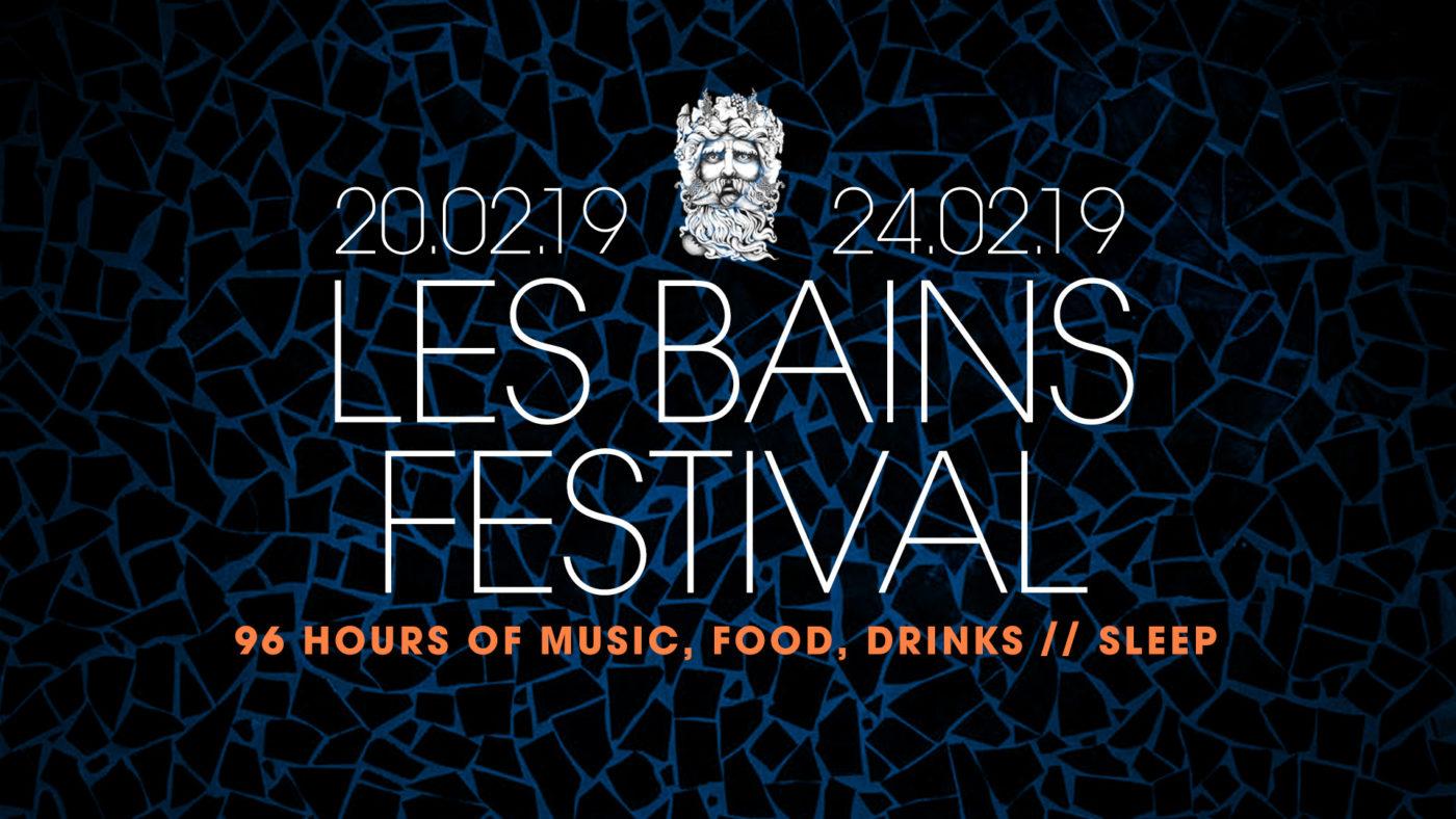 festival les bains paris