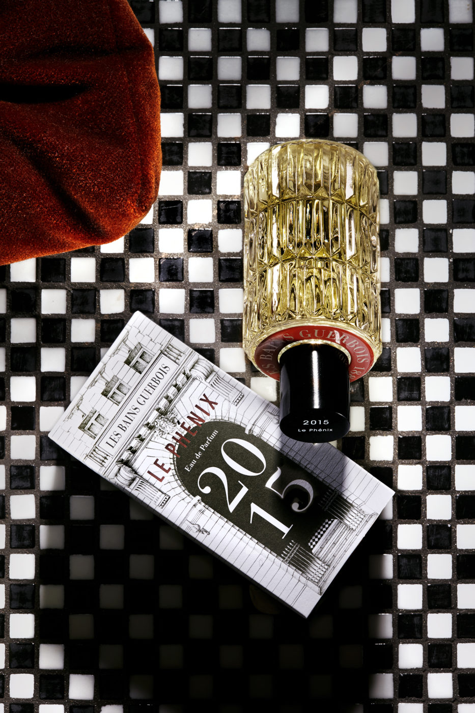 campagne parfums les bains paris