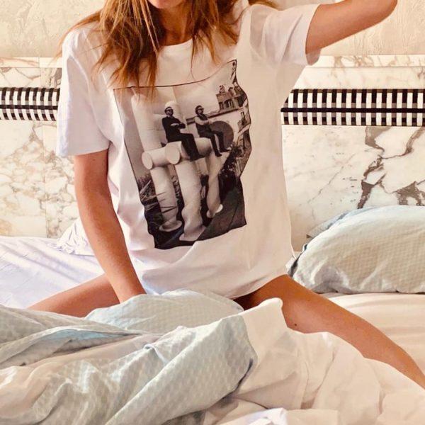 t-shirt les bains paris